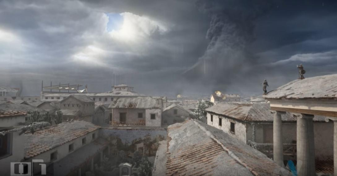 Zkáza Pompejí