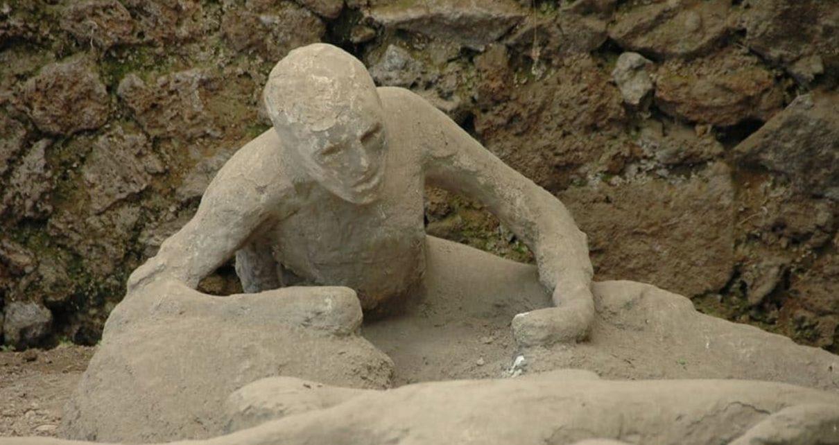 Smrt lidí v Pompejích