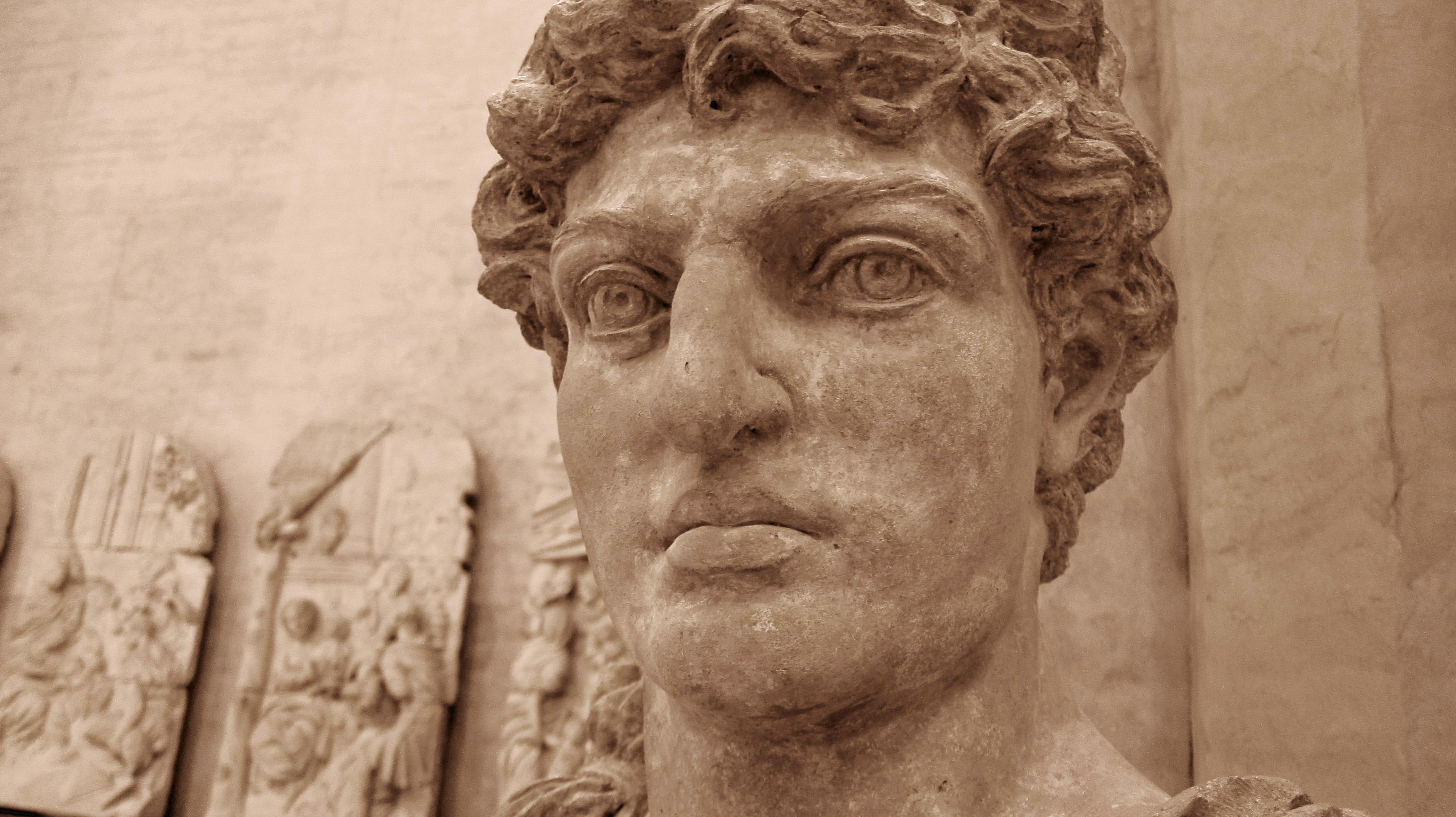 Marcus Antonius byl statný muž.