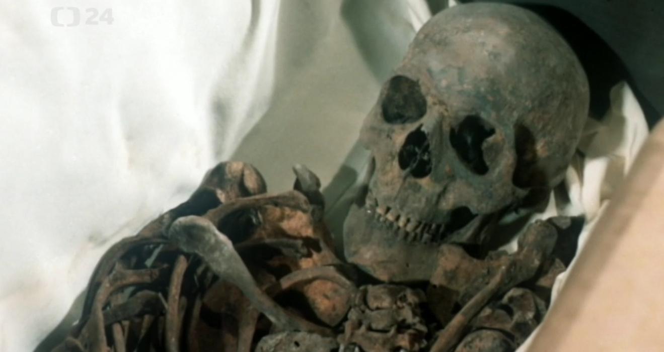 Ostatky Karla IV.