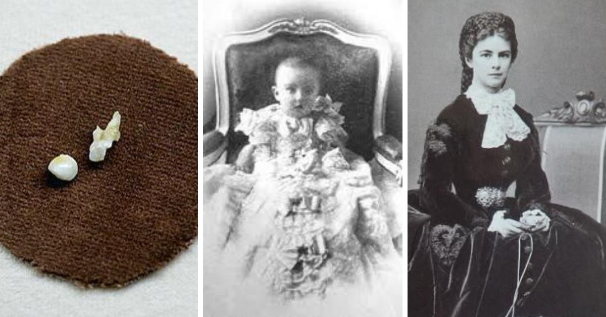 mléčné zuby Alžběty Bavorské