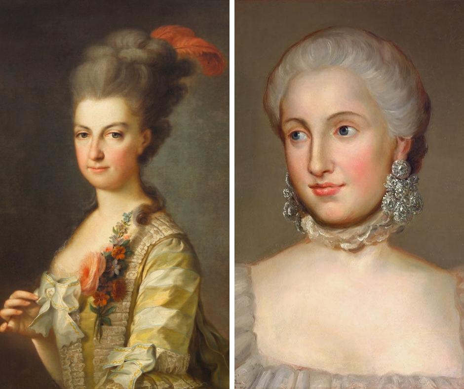 Marie Kristina a Isabela Parmská