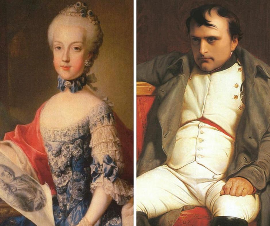 Marie Karolina a Napoleon Bonaparte