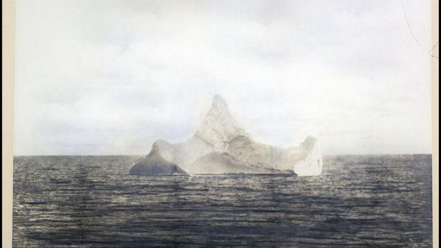 ledovec Titanic