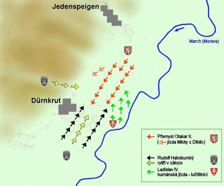 mapa bity moravského pole