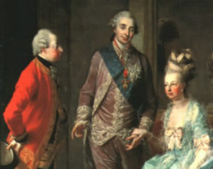 Návštěva Josefa II. u sestry Marie Antoinetty