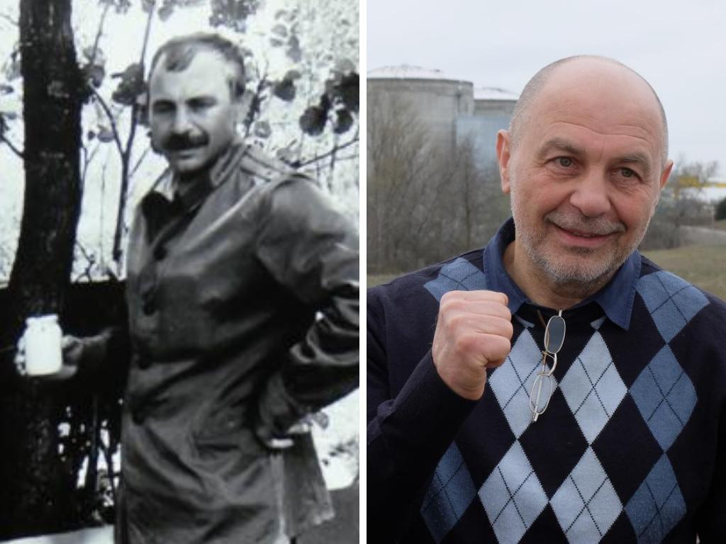 Oleg Veklenko likvidátor z Černobylu