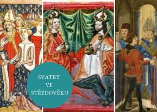 svatby ve středověku