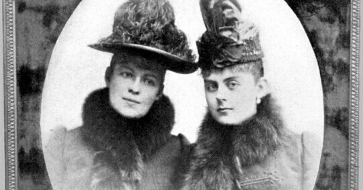hraběnka Larischová a Mary Vetserová