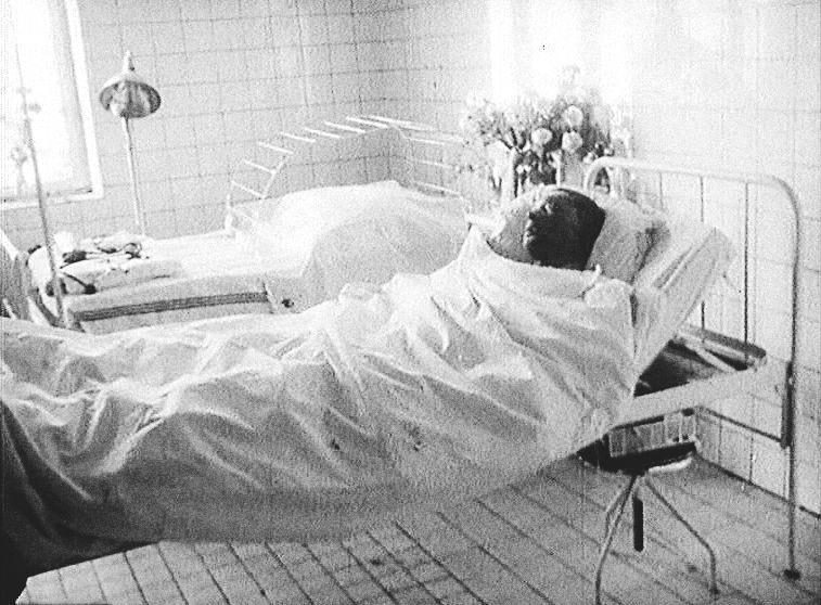 jan palach v nemocnici